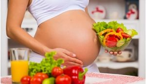 comer saludablemente en el embarazo